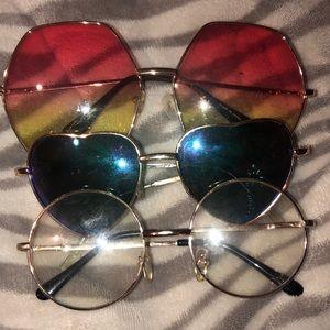 3 pair of sunglasses!